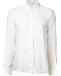 weißes Seide Businesshemd von Marc Jacobs