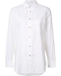 weißes Seide Businesshemd von Rag & Bone