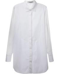 weißes Seide Businesshemd von Valentino