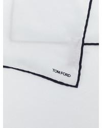 weißes Seide Einstecktuch von Tom Ford