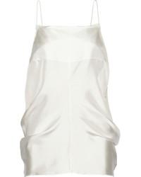 weißes Seide Trägershirt von Acne Studios
