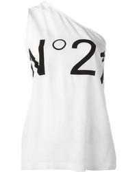 weißes Seide Trägershirt von No.21