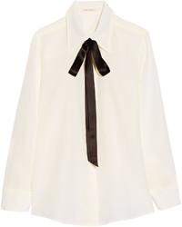 weißes Seidehemd von Marc Jacobs