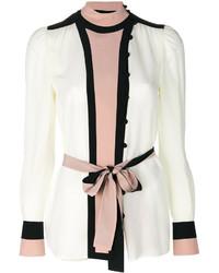 weißes Seidehemd von Valentino