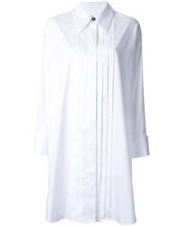 weißes Shirtkleid