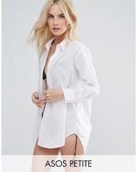 weißes Shirtkleid von Asos