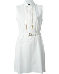 weißes Shirtkleid von Dsquared2