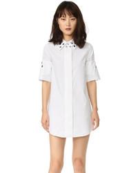 weißes Shirtkleid von Maison Margiela