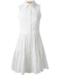 weißes Shirtkleid von Michael Kors
