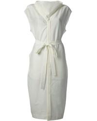 weißes Shirtkleid von Rick Owens