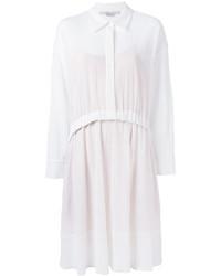 weißes Shirtkleid von Stella McCartney