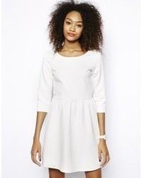 weißes Skaterkleid von Vero Moda
