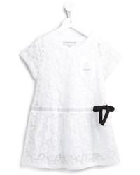 weißes Spitzekleid von Simonetta