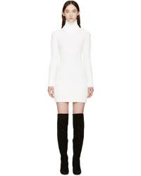 weißes Sweatkleid von Calvin Klein