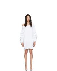 weißes Sweatkleid von Dsquared2