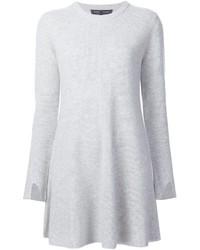 weißes Sweatkleid von Proenza Schouler