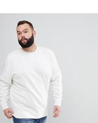 weißes Sweatshirt von Brave Soul