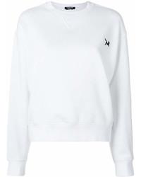 weißes Sweatshirt von Calvin Klein