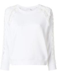 weißes Sweatshirt von Chloé