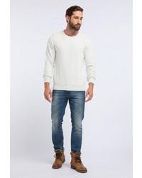 weißes Sweatshirt von Dreimaster