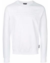 weißes Sweatshirt von Emporio Armani