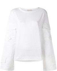 weißes Sweatshirt von Marni