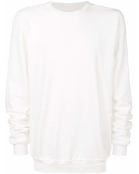 weißes Sweatshirt von Rick Owens