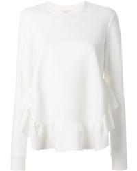 weißes Sweatshirt von Stella McCartney