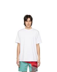 weißes T-Shirt mit einem Rundhalsausschnitt von Aimé Leon Dore