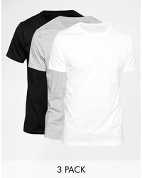 weißes T-Shirt mit einem Rundhalsausschnitt von Asos
