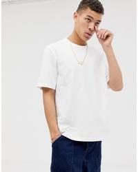 weißes T-Shirt mit einem Rundhalsausschnitt von ASOS WHITE