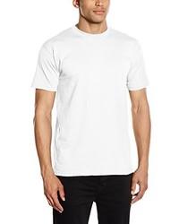 weißes T-Shirt mit einem Rundhalsausschnitt von Fruit of the Loom