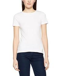 Weißes T-Shirt mit Rundhalsausschnitt von New Look