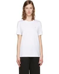 weißes T-shirt von Acne Studios
