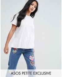 weißes T-shirt von Asos