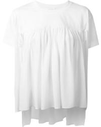 weißes T-shirt von Chloé