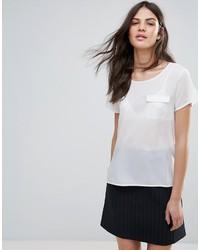weißes T-shirt von French Connection