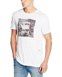 weißes T-shirt von G-Star RAW