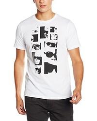 weißes T-shirt von Karl Lagerfeld