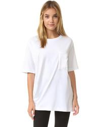 weißes T-shirt von Rag & Bone