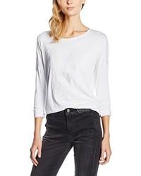 weißes T-shirt von Versace