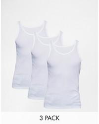 weißes Trägershirt von Dickies
