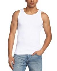 weißes Trägershirt von Minimum