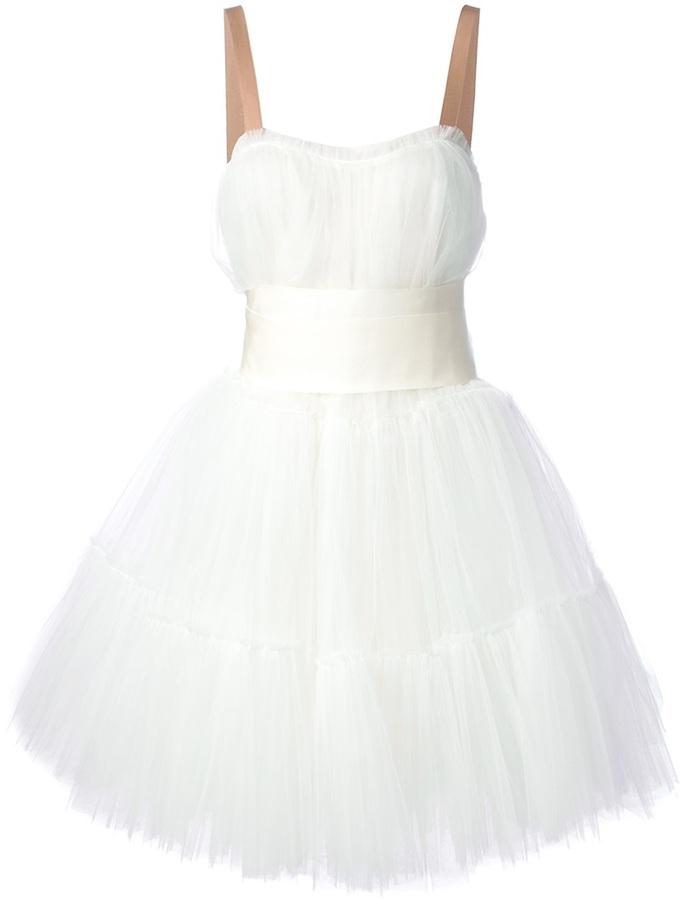 weißes Tüll Cocktailkleid von Lanvin | Wo zu kaufen und wie zu ...