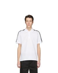 weißes und schwarzes Polohemd von Givenchy