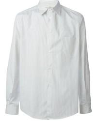 weißes vertikal gestreiftes Businesshemd von Golden Goose Deluxe Brand