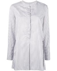 weißes vertikal gestreiftes Hemd von Isabel Marant