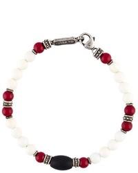 weißes Perlen Armband