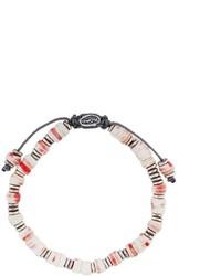 weißes Perlen Armband von M. Cohen