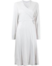 weißes Wickelkleid von ASTRAET